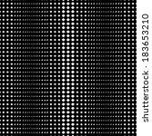 black and white geometric... | Shutterstock .eps vector #183653210