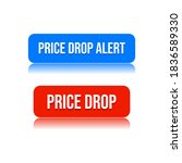 price drop alert shopping... | Shutterstock .eps vector #1836589330