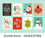collection of christmas... | Shutterstock .eps vector #1836629386