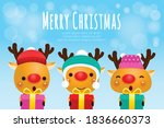 merry christmas and happy new...   Shutterstock .eps vector #1836660373
