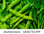 Fresh  Organic  Green Beans....