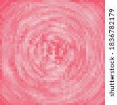 Pink Vortex Pixel Art....