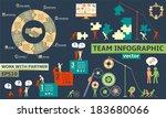 modern business concept  ...   Shutterstock .eps vector #183680066