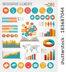 education infographics. vector. | Shutterstock .eps vector #183687044