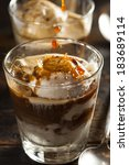 Homemade Affogato With Ice...