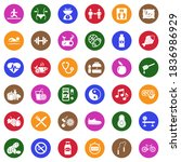 health and wellness icons.... | Shutterstock .eps vector #1836986929