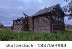 Wooden Ruins  Ramshackle Wooden ...