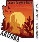 Arizona Desert Illustraiton...
