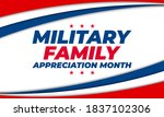 military family appreciation... | Shutterstock .eps vector #1837102306
