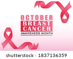 pink banner vector design for... | Shutterstock .eps vector #1837136359