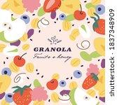 Vector Illustration Granola...