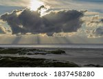 Amrum Island  Germany  Sun Ray...