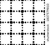 seamless pattern. mesh of... | Shutterstock .eps vector #1837579810