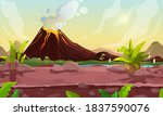 prehistoric steaming volcano pc ...