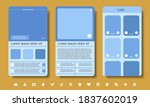sample mobile app interface...
