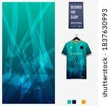 fabric pattern design. geometry ... | Shutterstock .eps vector #1837630993