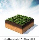 3d rendered illustration of... | Shutterstock . vector #183763424