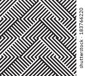 abstract seamless pattern  | Shutterstock .eps vector #183766220