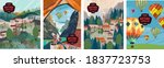 nature landscape. vector... | Shutterstock .eps vector #1837723753