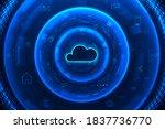 internet infrastructure concept....   Shutterstock .eps vector #1837736770