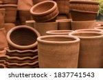 Stacks Of Various Terracotta...