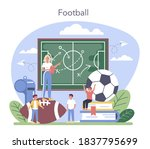 physical education or school... | Shutterstock .eps vector #1837795699