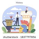 history concept. history school ... | Shutterstock .eps vector #1837797856