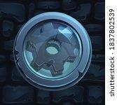 vector game ui button...