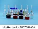 color indicators of chemical...   Shutterstock . vector #1837804606
