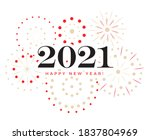 happy new year celebration card ... | Shutterstock .eps vector #1837804969