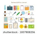vector illustration of office   ...   Shutterstock .eps vector #1837808206