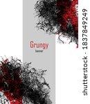 grungy abstract banner....   Shutterstock .eps vector #1837849249