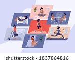 illustrations female daily...   Shutterstock .eps vector #1837864816