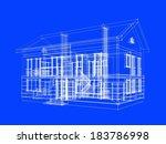 house design | Shutterstock . vector #183786998