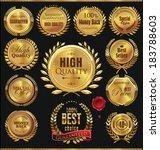 premium quality golden... | Shutterstock .eps vector #183788603