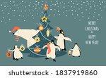 vector banner for christmas and ... | Shutterstock .eps vector #1837919860