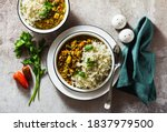 Indian Lentil Dhal With...