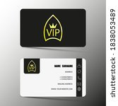 vip card design for clients ...   Shutterstock .eps vector #1838053489