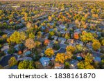 Fall Colors Under Wildfire...