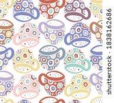 seamless vector pattern of... | Shutterstock .eps vector #1838162686