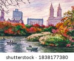 Autumn In New York Central Park....