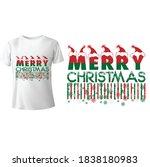 merry christmas shirt ...   Shutterstock .eps vector #1838180983