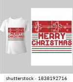merry christmas shirt ...   Shutterstock .eps vector #1838192716