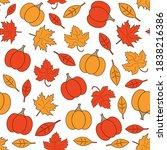 Autumn Seamless Background....