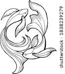 vector illustration with... | Shutterstock .eps vector #1838239279