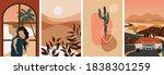 collection of contemporary... | Shutterstock .eps vector #1838301259