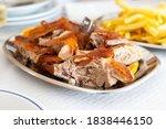 Roasted Pork With Fried Potato...