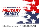 national military family month... | Shutterstock .eps vector #1838480560