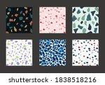 colorful venetian terrazzo... | Shutterstock .eps vector #1838518216