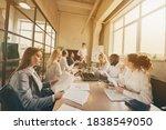 group of people smart business... | Shutterstock . vector #1838549050